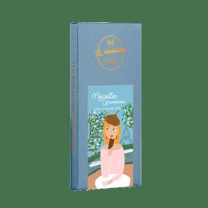 Noisettes caramelisées - chocolat au lait 45%