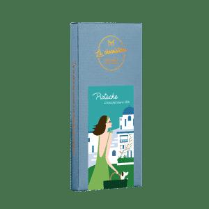 Pistache - chocolat blanc 35%
