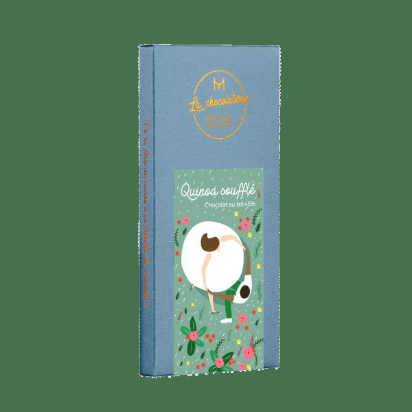 Quinoa soufflé - chocolait au lait 45 %
