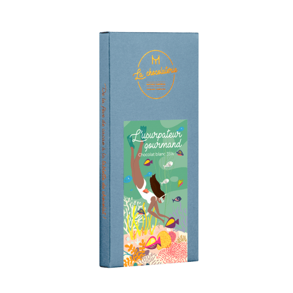 L'usurpateur Gourmand - chocolat blanc 35%